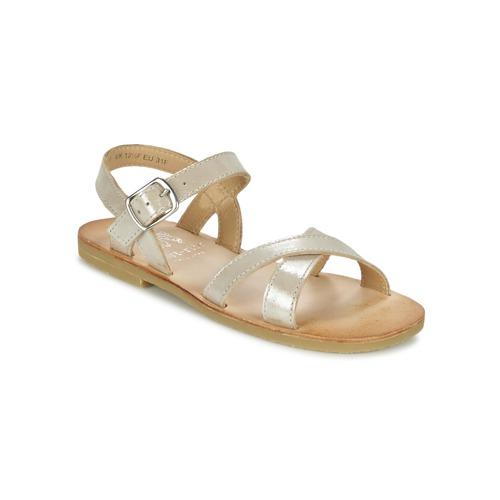 Chaussures Fille Sandales et Nu-pieds Start Rite NICE II Doré