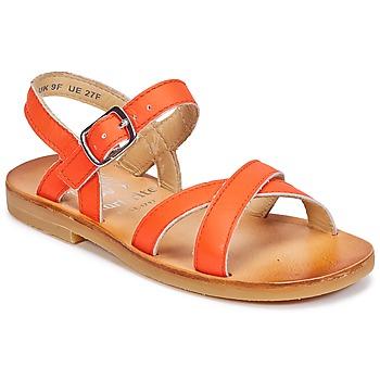Chaussures Fille Sandales et Nu-pieds Start Rite NICE II Orange