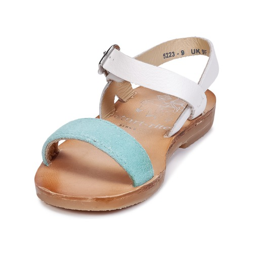 Bleu Chaussures pieds Ii Rite Sandales Flora Fille Nu Et Start VMSzUpq