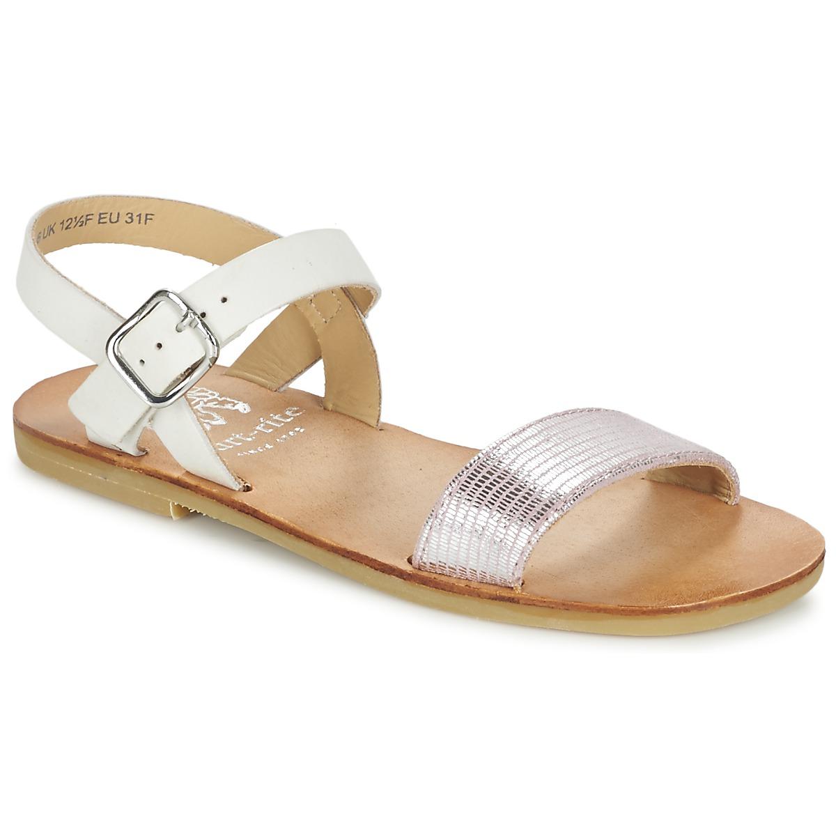 Sandale Start Rite FLORA II Rose / Blanc