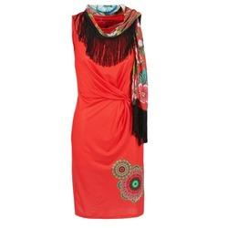 Vêtements Femme Robes courtes Desigual USIME Rouge