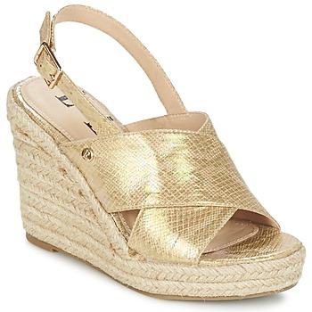 Chaussures Femme Sandales et Nu-pieds Elle CAMPO Beige doré
