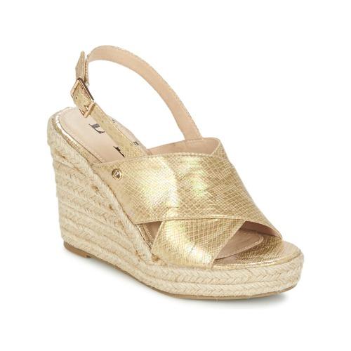 Sandale Elle CAMPO Beige doré 350x350