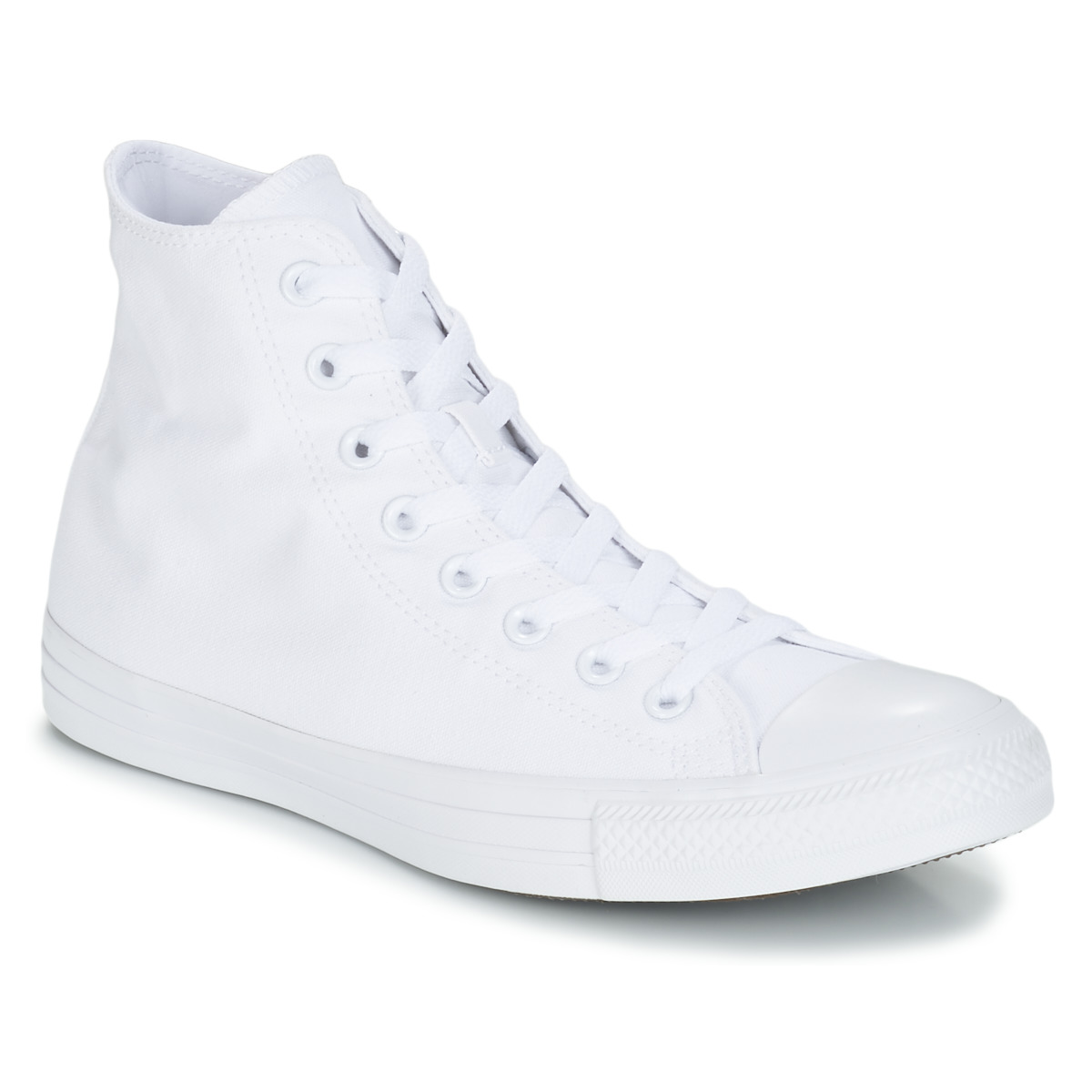 9b67df5b8bd Chaussures Baskets montantes Converse CHUCK TAYLOR ALL STAR SEASONAL HI  Blanc