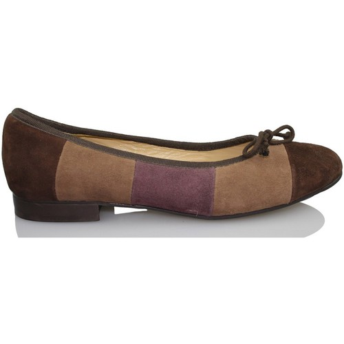 Sandra Stylo COCOO BROWN - Chaussures Ballerines Femme