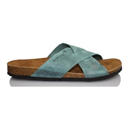 Chaussures Homme Mules Interbios SANDALES INTERMÉDIAIRES AQUILES 9509 BLEU