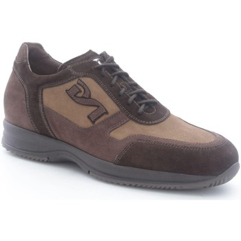 Chaussures Homme Baskets basses Nero Giardini A000112U Basket Homme Testa di moro/Cacao Testa di moro/Cacao