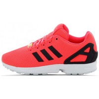 Chaussures Fille Baskets basses adidas Originals ZX Flux Junior - Ref. AF6262 Rose