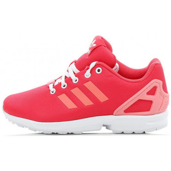 Chaussures Fille Baskets basses adidas Originals ZX Flux Junior - Ref. B25639 Rose