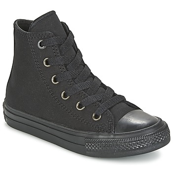 Chaussures Enfant Baskets montantes Converse CHUCK TAYLOR ALL STAR II TENCEL CANVAS HI Noir