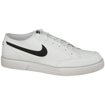 Chaussures Homme Baskets basses Nike Gts 12 Leather 525307-100 White