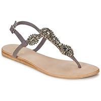 Chaussures Femme Sandales et Nu-pieds Betty London GRETA Gris
