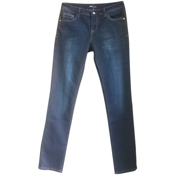 Vêtements Femme Jeans droit Dress Code Jean 15HP097 bleu Bleu