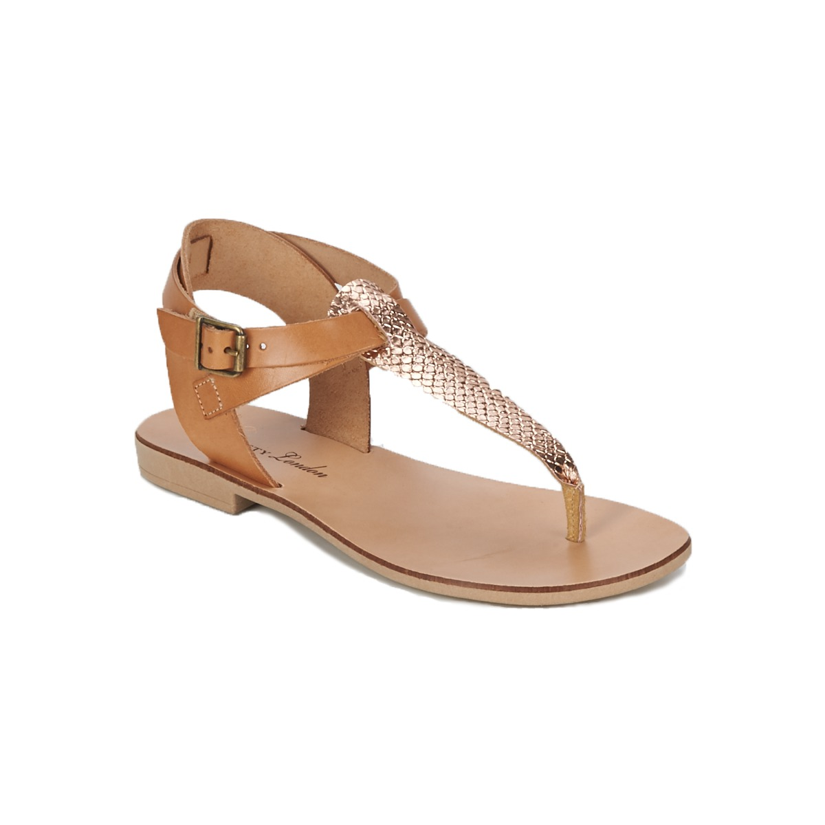 Sandale Betty London VITAMO Camel / Rose