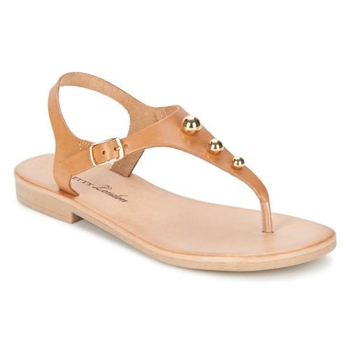 Sandale Betty London VITALLA Camel 350x350