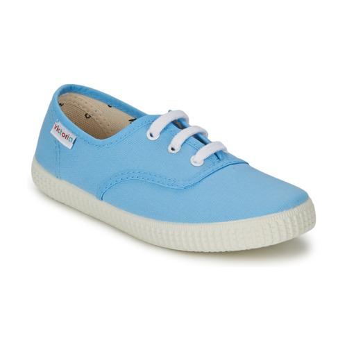Baskets mode Victoria INGLESA LONA Bleu 350x350