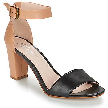 Sandale Betty London CRETOLIA Nude / Noir 350x350