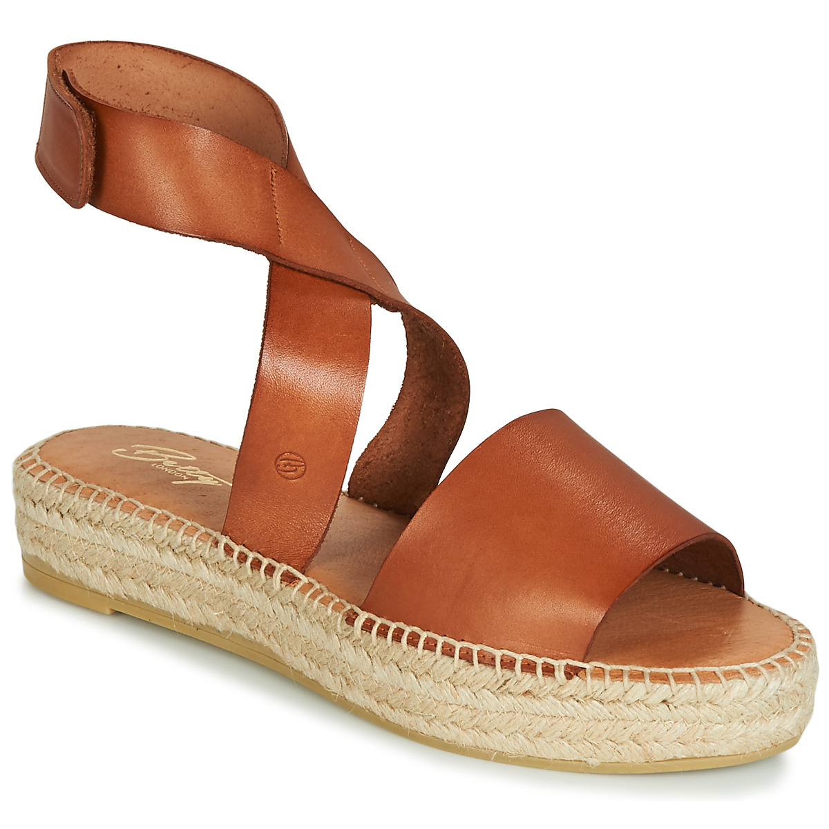Sandale Betty London EBALUIE Camel