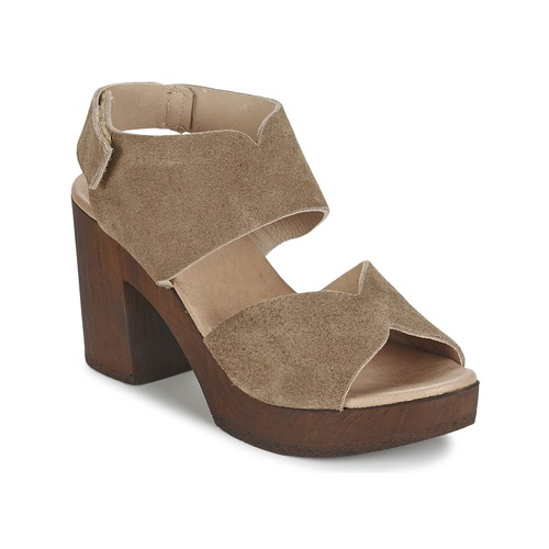 Chaussures Femme Sandales et Nu-pieds Betty London ETIANA Taupe
