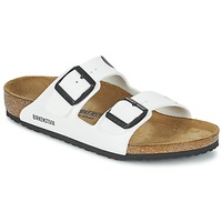Chaussures Enfant Mules Birkenstock ARIZONA Blanc