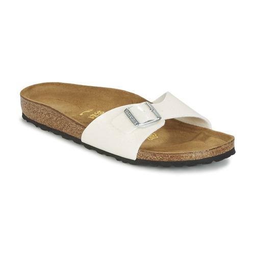 Chaussures Femme Mules Birkenstock MADRID Blanc