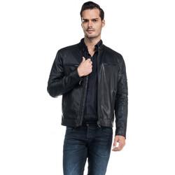 Vêtements Homme Blousons Salsa Blouson en synthétique perforé Noir Noir