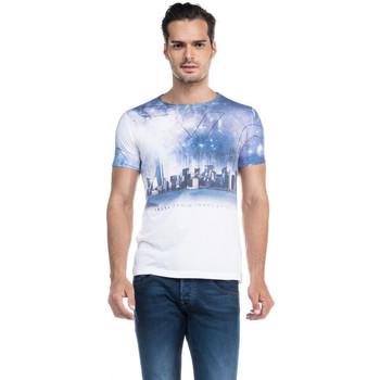 Vêtements Homme T-shirts manches courtes Salsa T-Shirt  113384 Blanc Blanc