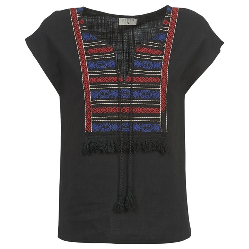 Vêtements Femme Tops / Blouses Betty London ETROBOLE Noir