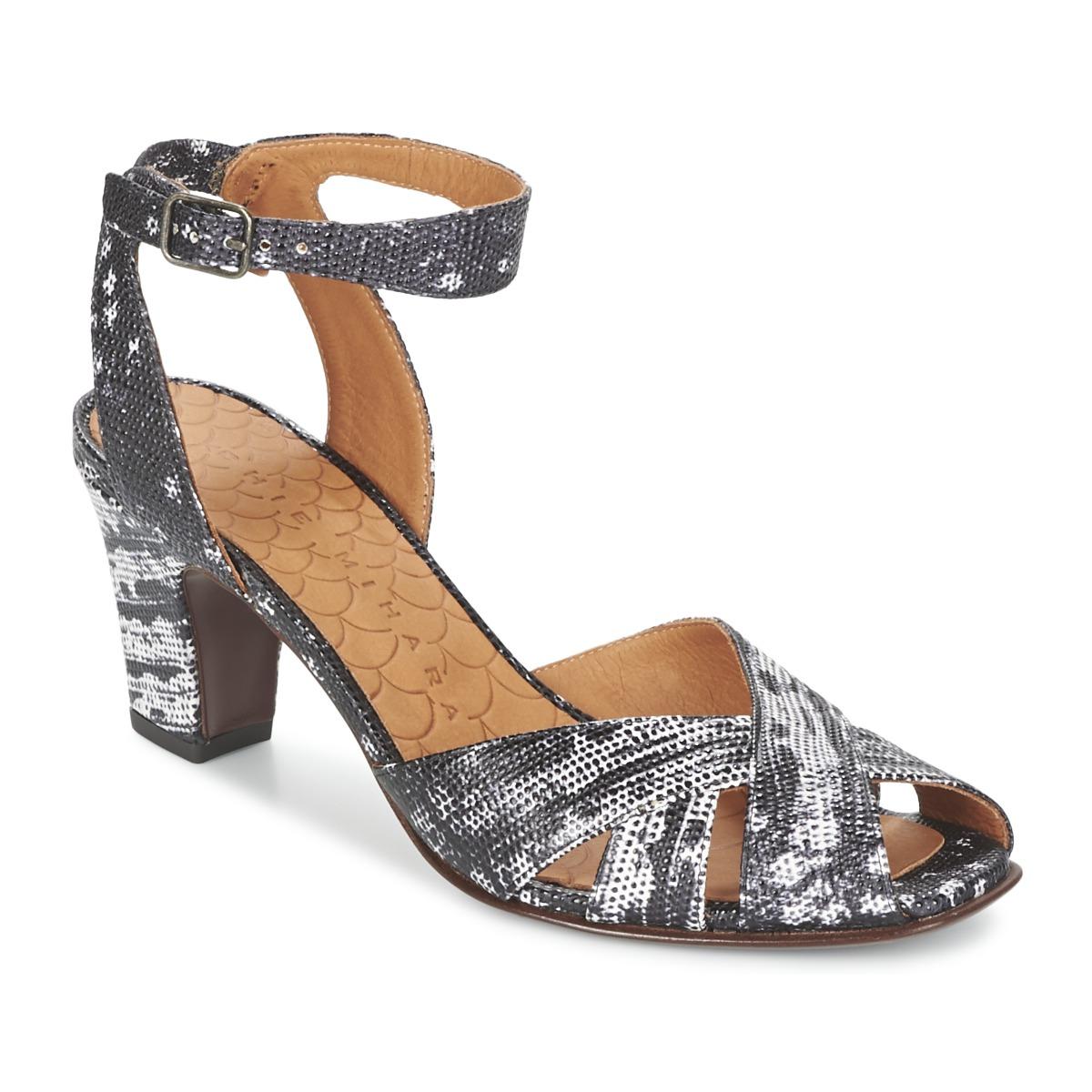 Sandale Chie Mihara HART Noir / Blanc