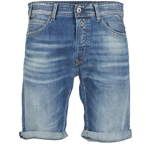 Shorts & Bermudas Replay SHORT 901 Bleu 009 350x350