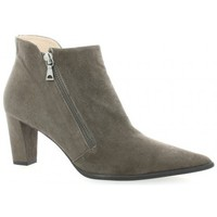 Chaussures Femme Bottines Brenda Zaro Boots cuir velours Gris