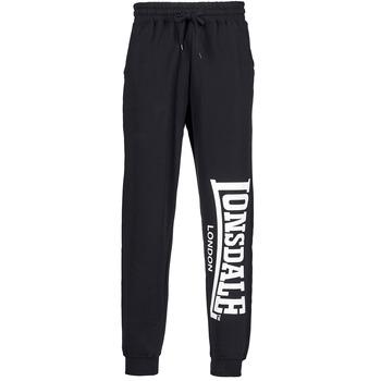 Vêtements Homme Pantalons de survêtement Lonsdale LARGE LOGO Noir