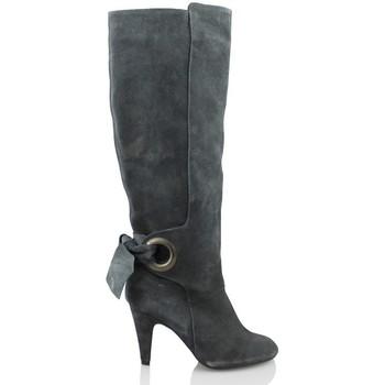 Chaussures Femme Bottes ville Elia Bruni GRAS GRAFITO GRIS