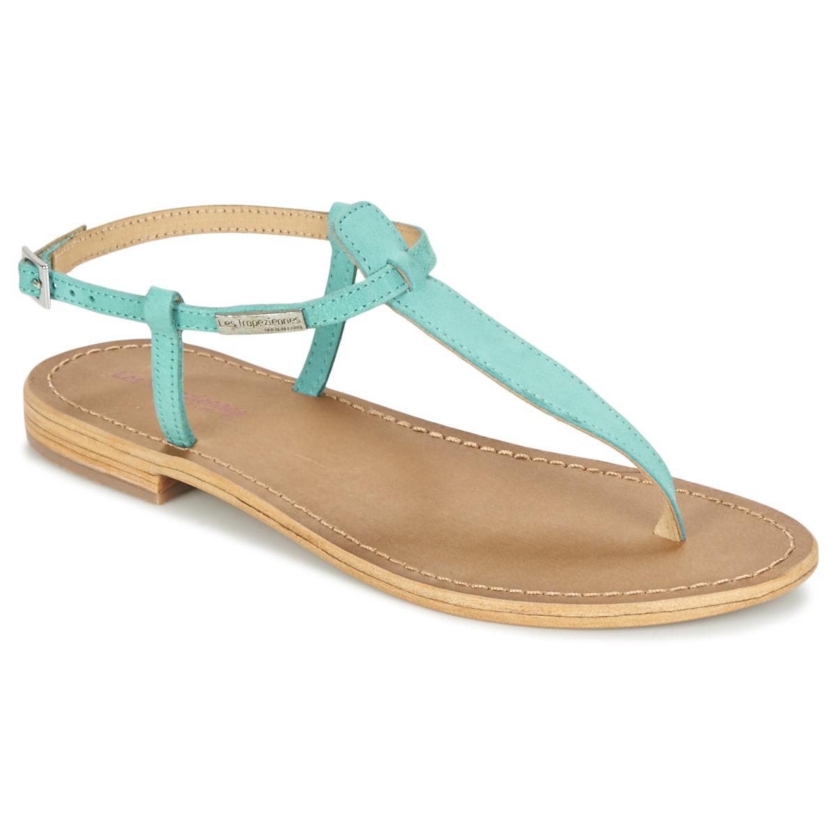 Sandale Les Tropéziennes par M Belarbi NARBUCK Turquoise