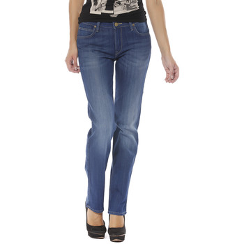 Vêtements Jeans droit Lee Jeans FEMME - MARION REGULAR - STRAIGHT L301PFOQ Bleu