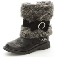 Chaussures Fille Boots Lulu LuLù FLASH Bottes et bottines Fille Black Black