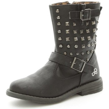 Chaussures Fille Bottines Lulu LuLù MILLY Bottes et bottines Fille Black Black