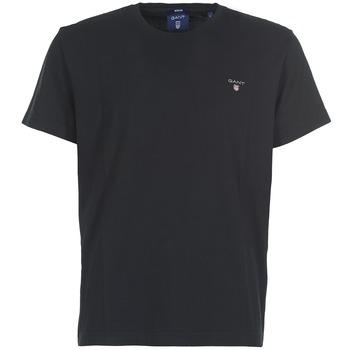 Vêtements Homme T-shirts manches courtes Gant THE ORIGINAL T-SHIRT Noir