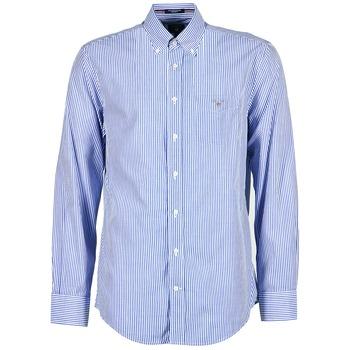 Chemises Gant POPLIN BANKER Bleu 350x350