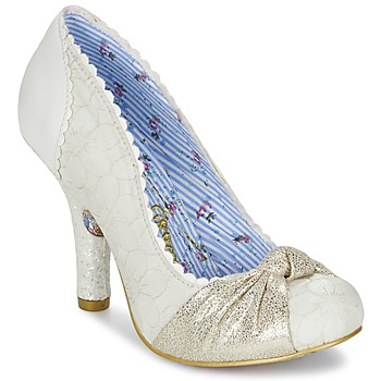 Chaussures Femme Escarpins Irregular Choice SMARTIE PANTS Blanc