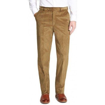 Vêtements Homme Chinos / Carrots Kebello Pantalon Velours beige