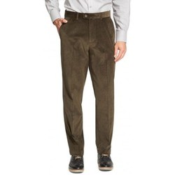 Vêtements Homme Chinos / Carrots Kebello Pantalon Velours vert