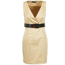 Vêtements Femme Robes courtes Love Moschino ACTEE Beige