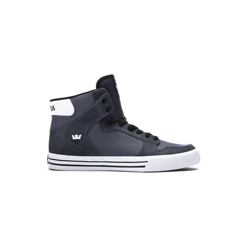 Chaussures Homme Baskets montantes Supra Chaussures  Vaider Charcoal h15 - Gris