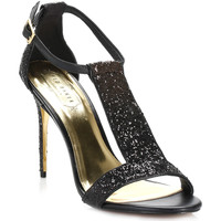 Chaussures Femme Sandales et Nu-pieds Ted Baker Womens Black & Gold Pwimwrose Ankle Strap Sandals Ted Baker_168
