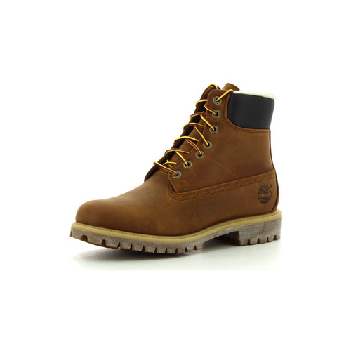 Chaussures Homme Boots Timberland Heritage 6-Inch Shearling Lined medium brown