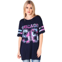 T-shirts manches courtes Krisp Top T Shirt Long Oversized Femme Am