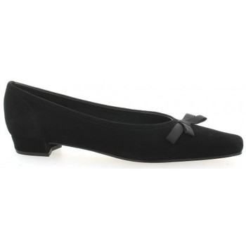 Chaussures Femme Ballerines / babies Elizabeth Stuart Escarpins cuir velours Noir