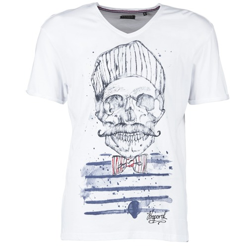 T-shirts & Polos Kaporal BARLO Blanc 350x350