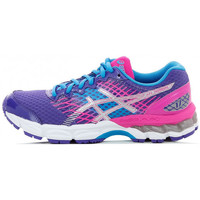 Chaussures Fille Running / trail Asics Gel Nimbus 17 Junior - C519N-5293 Violet